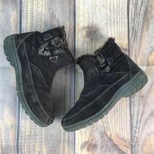 Khombu Gracie Brown Suede Ankle Boot 9.5